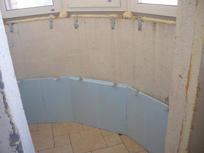 как на первом этаже построить балкон