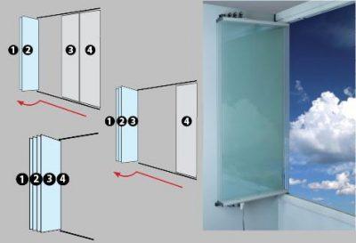 Технология безрамного остекления фахверковых домов - Промстройлес